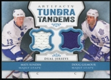 2013-14 Upper Deck Artifacts Tundra Tandems Jerseys Blue #TTSG Mats Sundin/Doug Gilmour C