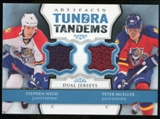 2013-14 Upper Deck Artifacts Tundra Tandems Jerseys Blue #TTWM Stephen Weiss/Peter Mueller C