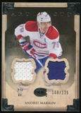 2013-14 Upper Deck Artifacts Jerseys #6 Andrei Markov /125