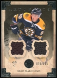 2013-14 Upper Deck Artifacts Jerseys #10 Brad Marchand /125