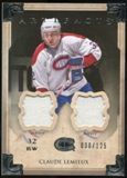 2013-14 Upper Deck Artifacts Jerseys #14 Claude Lemieux /125