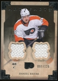2013-14 Upper Deck Artifacts Jerseys #18 Daniel Briere /125