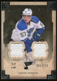 2013-14 Upper Deck Artifacts Jerseys #19 David Perron /125