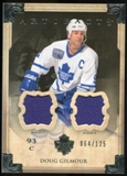 2013-14 Upper Deck Artifacts Jerseys #21 Doug Gilmour /125