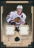 2013-14 Upper Deck Artifacts Jerseys #24 Duncan Keith /125