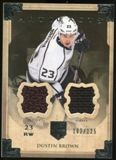 2013-14 Upper Deck Artifacts Jerseys #25 Dustin Brown /125