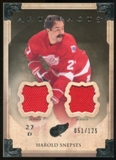 2013-14 Upper Deck Artifacts Jerseys #29 Harold Snepsts /125