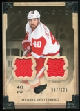 2013-14 Upper Deck Artifacts Jerseys #30 Henrik Zetterberg /125
