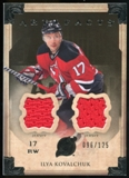 2013-14 Upper Deck Artifacts Jerseys #31 Ilya Kovalchuk /125