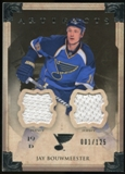 2013-14 Upper Deck Artifacts Jerseys #38 Jay Bouwmeester /125