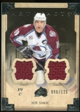 2013-14 Upper Deck Artifacts Jerseys #41 Joe Sakic /125
