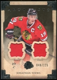 2013-14 Upper Deck Artifacts Jerseys #42 Jonathan Toews /125