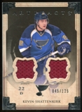 2013-14 Upper Deck Artifacts Jerseys #46 Kevin Shattenkirk /125