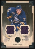 2013-14 Upper Deck Artifacts Jerseys #50 Luke Adam /125