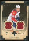 2013-14 Upper Deck Artifacts Jerseys #85 Peter Mueller /125