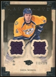 2013-14 Upper Deck Artifacts Jerseys #91 Shea Weber /125