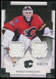 2013-14 Upper Deck Artifacts Jerseys #119 Miikka Kiprusoff G /125