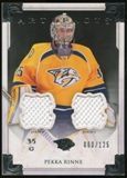 2013-14 Upper Deck Artifacts Jerseys #122 Pekka Rinne G /125