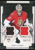2013-14 Upper Deck Artifacts Jerseys #124 Robin Lehner G /125