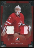 2013-14 Upper Deck Artifacts Jerseys #129 Chet Pickard TC /125