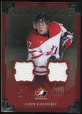 2013-14 Upper Deck Artifacts Jerseys #130 Cody Goloubef TC /125