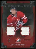 2013-14 Upper Deck Artifacts Jerseys #131 Colten Teubert TC /125