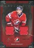 2013-14 Upper Deck Artifacts Jerseys #133 Dany Heatley TC /125