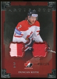 2013-14 Upper Deck Artifacts Jerseys #135 Duncan Keith TC /125