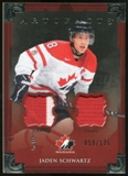 2013-14 Upper Deck Artifacts Jerseys #137 Jaden Schwartz TC /125
