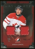 2013-14 Upper Deck Artifacts Jerseys #139 Jared Cowen TC /125