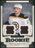 2013-14 Upper Deck Artifacts Jerseys #163 Dougie Hamilton /125