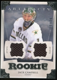 2013-14 Upper Deck Artifacts Jerseys #167 Jack Campbell /125