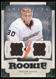 2013-14 Upper Deck Artifacts Jerseys #198 Viktor Fasth /125