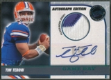 2010 Press Pass #GDGTT Tim Tebow Game Day Gear Rookie Jersey Auto #02/25