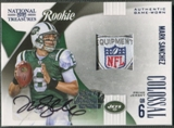 2009 Playoff National Treasures 2010 Baltimore National #1 Mark Sanchez Rookie NFL Shield Auto #1/1
