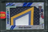 2010 Rookies and Stars Longevity #295 Ryan Mathews Sapphire Rookie Jumbo Patch #1/1