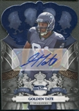 2010 Crown Royale #224 Golden Tate Platinum Rookie Auto #1/1