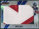 2010 Rookies and Stars Longevity #256 Ben Tate Sapphire Rookie Jumbo Patch #1/1