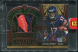 2012 Crown Royale #2 Alshon Jeffery 2013 Black Box Rookie Royalty Patch Auto #1/1