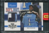 2012 Prestige #18 Kendall Wright Black Friday Black Box 2013 Rookie Patch Auto #1/1