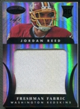2013 Certified #314 Jordan Reed Mirror Black Rookie Jersey #1/1