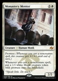 Magic the Gathering Fate Reforged Single Monastery Mentor Foil NEAR MINT (NM)