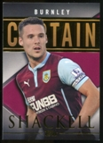2014/15 Topps English Premier League Gold Captains #CSJS Jason Shackell