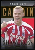 2014/15 Topps English Premier League Gold Captains #CSRS Ryan Shawcross