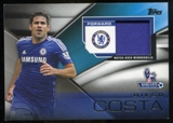 2014/15 Topps English Premier League Gold Football Fibers Relics #FFRDC Diego Costa