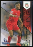 2014/15 Topps English Premier League Gold #64 Raheem Sterling