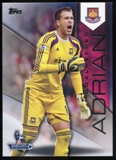 2014/15 Topps English Premier League Gold #144 Adrian