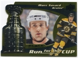 2008/09 Upper Deck Black Diamond Run for the Cup #CUP3 Marc Savard /100