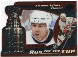 2008/09 Upper Deck Black Diamond Run for the Cup #CUP6 Jarome Iginla /100