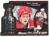 2008/09 Upper Deck Black Diamond Run for the Cup #CUP7 Eric Staal /100